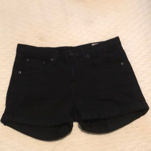 Rag and Bone black jean short